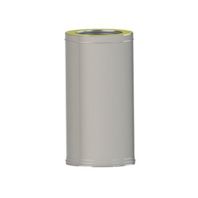 Труба димохідна двостінна сендвіч з нержавіючої сталі L=1000мм