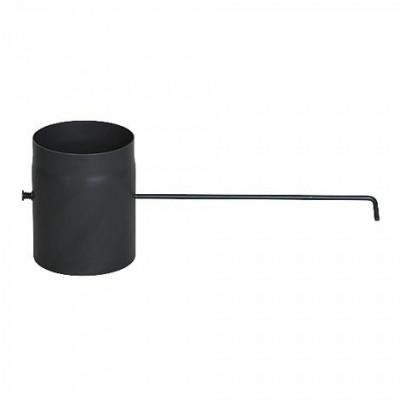 Шибер сталевий чорний 2мм